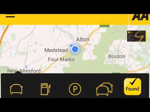 AA Breakdown – Report a Breakdown Via Our App