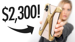 $2,300 iPhone Case?!