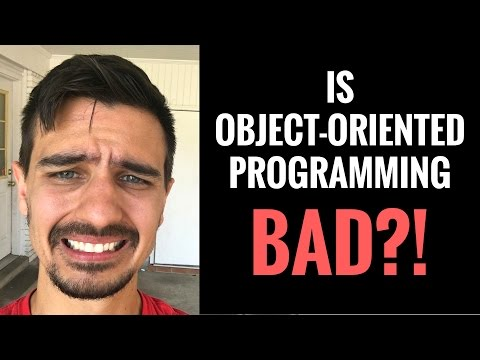 Is Object-Oriented Programming Really THAT Bad?