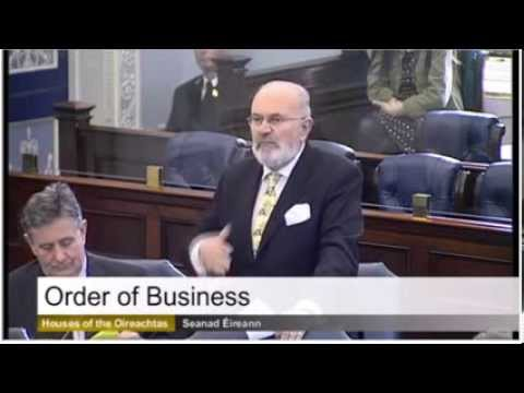 Wow.... David Norris lashes RTE and Iona. Must Watch