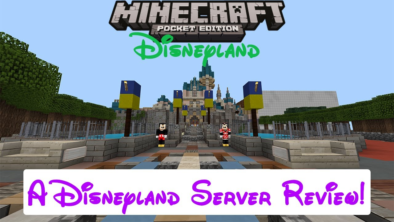 minecraft disney world server free download