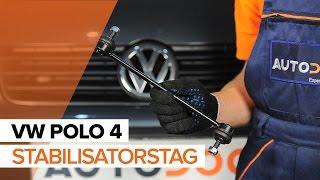 Udskiftning af Stabilisatorstag VW POLO: værkstedshåndbog