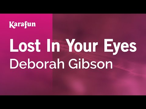 Karaoke Lost In Your Eyes - Deborah Gibson *