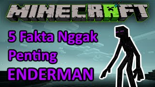 5 FAKTA NGGAK PENTING MINECRAFT Episode : ENDERMAN!