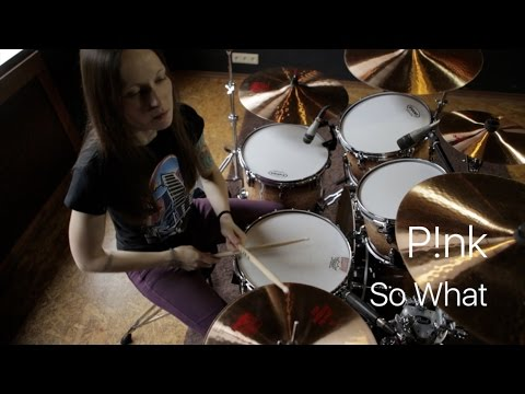 Pink  So What drum   Vicky Fates