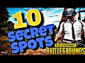 10 Secret and Safe places in PUBG Mobile that can help you to win the game
