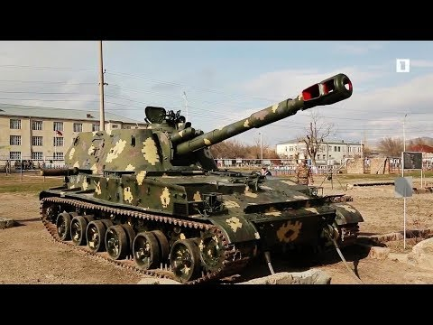 Армянская Армия. 102-й учебный артиллерийский полк/ Armenian Army 102nd Training Artillery Regiment