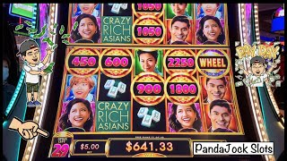 My first time playing it and I got a HANDPAY ! Crazy Rich Asians