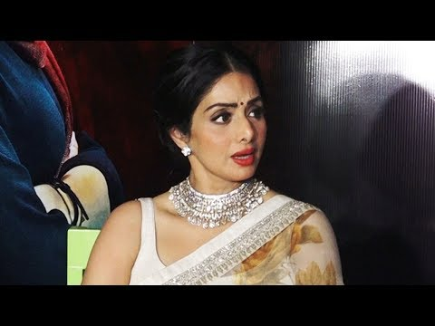 Irritated Sridevi BLUNTLY asks reporter to leave the Interview!