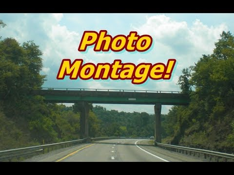 West Virginia Roads Photo Slideshow Montage