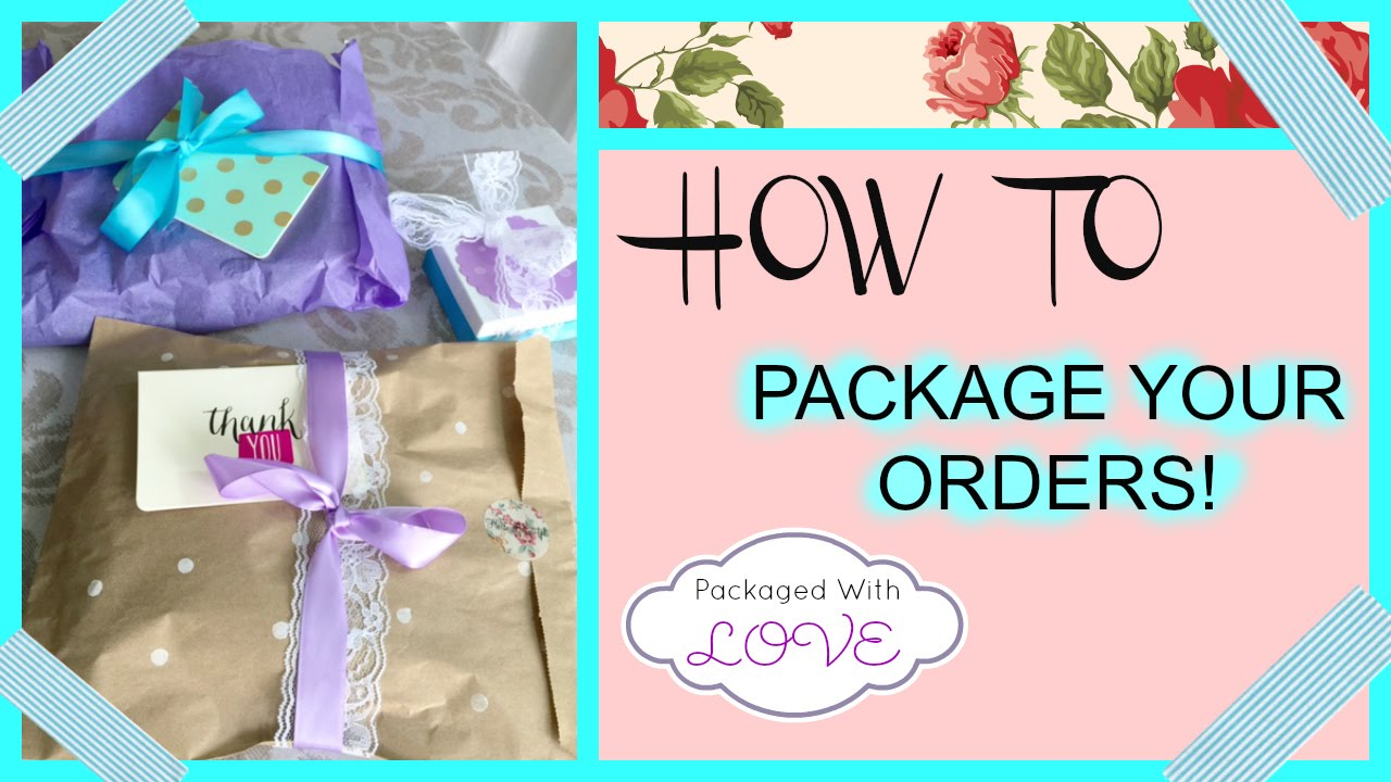 How to Package Your Products & Orders : Monika Rose San Francisco ...