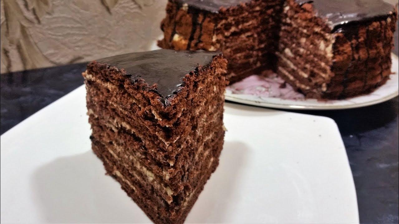 Торт Спартак - Ани Кухня! - YouTube