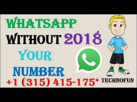 How To Create Whatsapp Account With Fake Number - WhatsApp Without mobile number 2018
