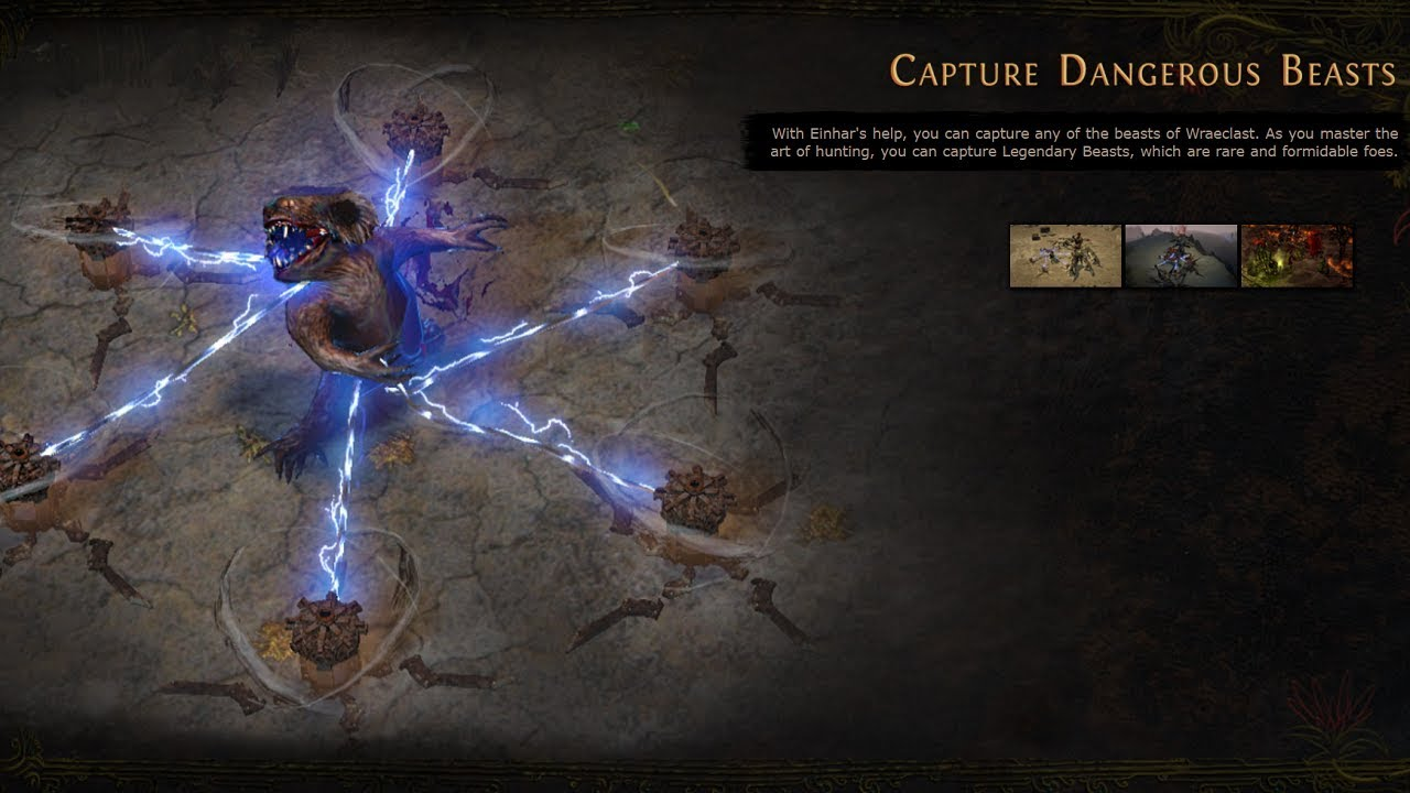 Path of Exile: Bestiary League Plans