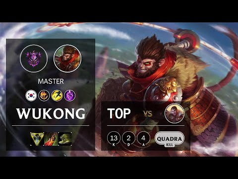 Wukong Top vs Jayce - KR Master Patch 10.22