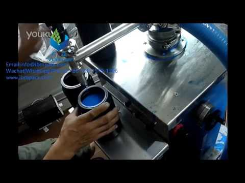 MY-VA Vertical type liquid|paste filling machine for paste|cream|honey