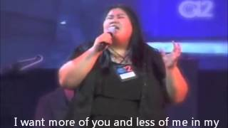 MORE OF YOU LYRICS by Doulos worship team