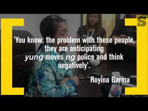 CEBU CITY POLICE CHIEF ROYINA GARMA ON HOUSE SEARCH