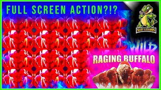 NEW SLOT!!! Raging Buffalo by Everi.  DGen Quits??? FUN SESSION WIN!