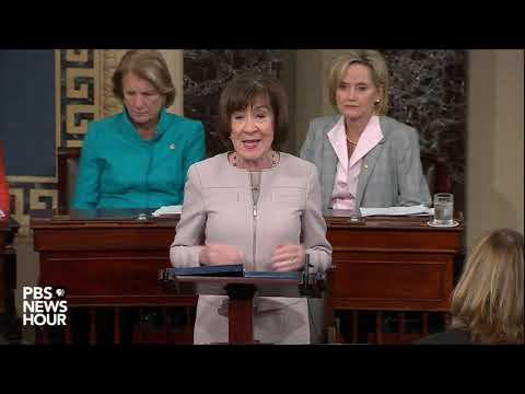 Collins: 'I will vote to confirm Judge Kavanaugh'