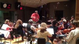 A short video of Boston-USA strings recording - Hassan El Shafei music