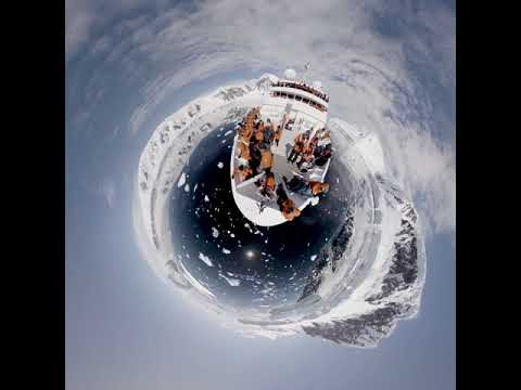 National Geographic Orion On Planet Antarctica