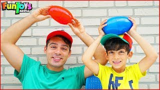 Egg Surprise Water Splash Game for Kids with Jason