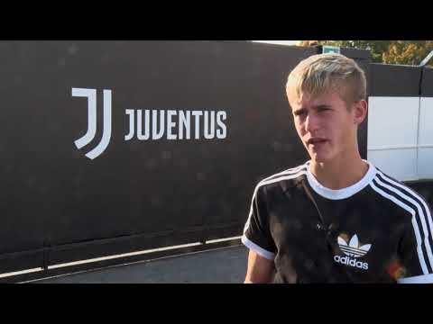 Reprezentant Nicolas Penner v Juventusu