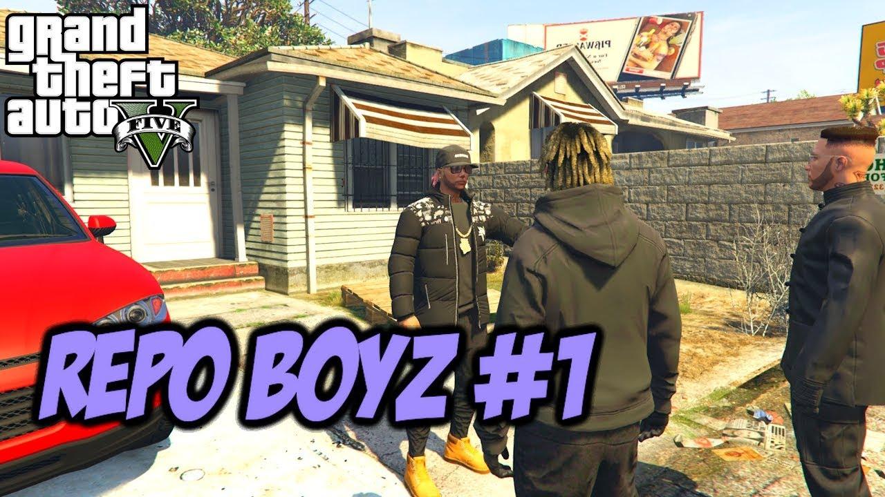 GTA 5 SCHOOL KIDS THUG LIFE #1 (REPO BOYZ)