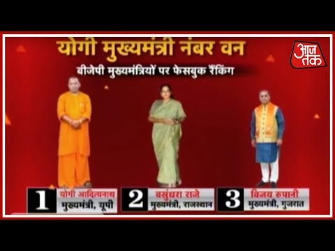 Yogi Adityanath Ranks As Number One Chief Minister; Vasundhara Raje Comes In Second