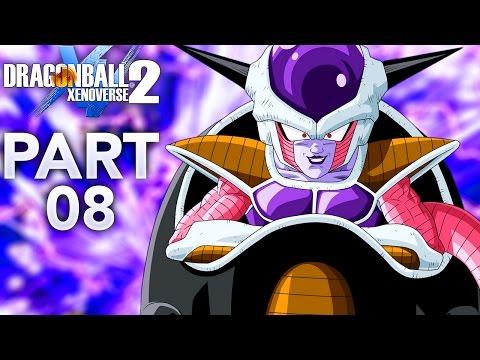 FRIEZA'S SPACESHIP & QQ BANGS!   Dragon Ball Xenoverse 2 - Walkthrough Part 8, Gameplay PS4