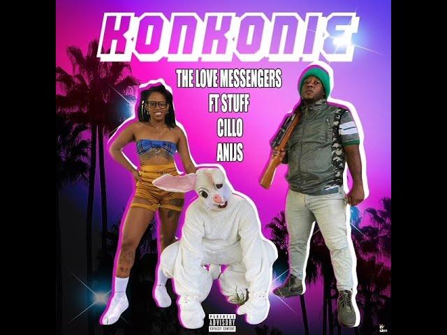 KONKONIE - DAMARU & THE LOVE MESSENGERS FT STUFF ,CILLO & ANIJS