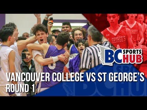 Vancouver College vs St George's - Round 1