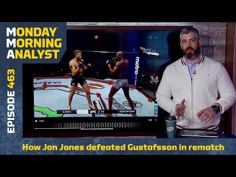 Breakdown: Jon Jones vs. Alexander Gustafsson 2   Monday Morning Analyst #463