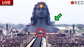 சற்றுமுன் ஈஷா யோகா மையத்தில் அமைக்கப்பட்ட பிரம்மாண்ட அரங்கம் பாருங்க! Mahashivratri | Isha