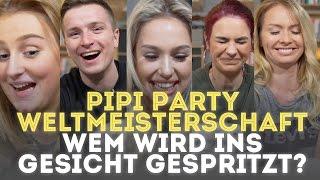 """Wem wird ins Gesicht gespritzt? """"PipiParty-Weltmeisterschaft"""" #PipiPartyChallenge"""