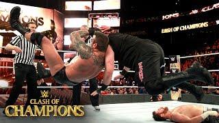 Shinsuke Nakamura brings a hard-hitting offense against Kevin Owens: WWE Clash of Champions 2017