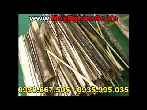 Máy nghiền gỗ thành mùn cưa cho dây chuyền ép viên nén wood pellet 2014