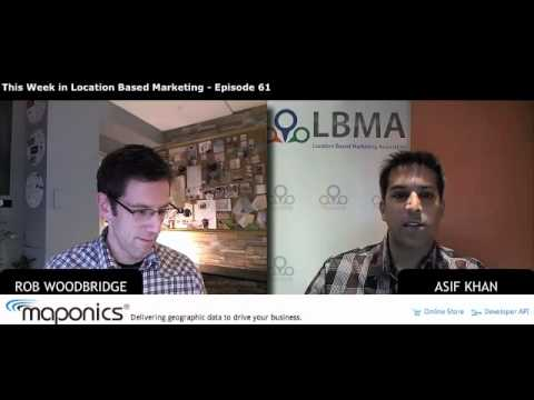 This Week in Location Based Marketing - Episode 61: NearBuy brings analytics to the cloud, Digby lau