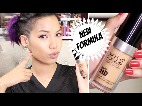 New Make Up Forever Hd Ultra Foundation Review You