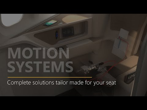 Aircraft Seat Motion Solutions from Astronics