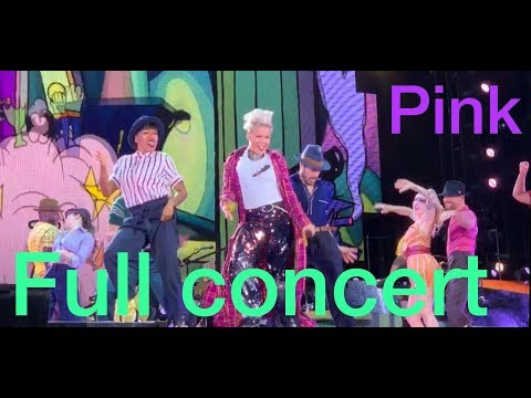 Pink Live Full Concert Beautiful Trauma World Tour HD 2019
