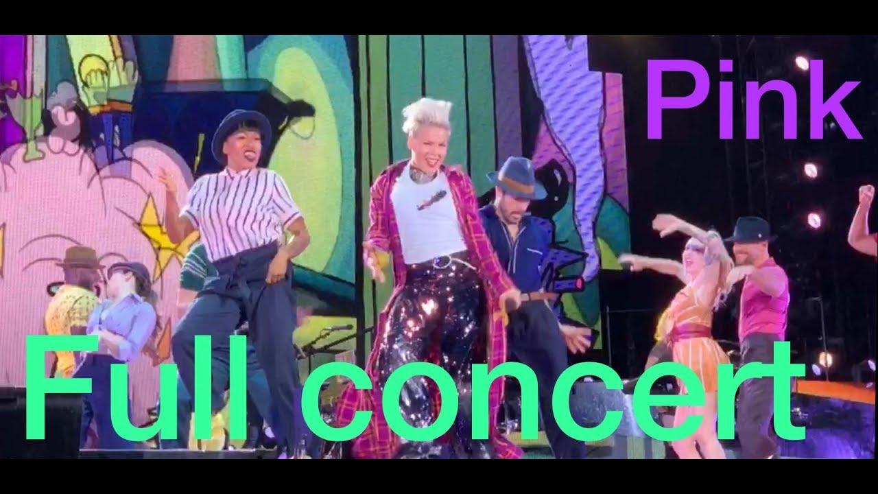 Download pink live full concert beautiful trauma world tour HD 2019