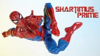 Marvel Legends Spider-Man 2020 Vintage Collection Retro Wave Hasbro Action Figure Review