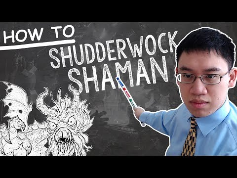 Trump Teachings: NEW Shudderwock Shaman - Deck Guide - The Witchwood