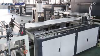Non woven bag making machine 5in1