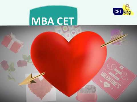 MBA CET 2019 Syllabus. Find Topics u love / hate this valentines day