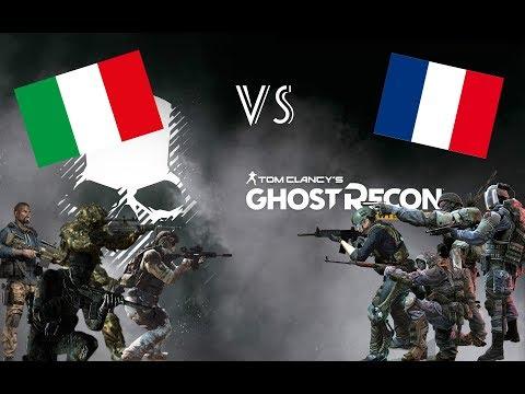 ITALIA vs FRANCIA - Si cambia gioco ma non avversari ( Ghost Recon Wildlands )
