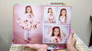 """Видео обзор фотоальбомов для детских садов """"Стандарт"""""""