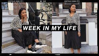 week in my life #7   beauty event, halloween makeup & vegan pancakes